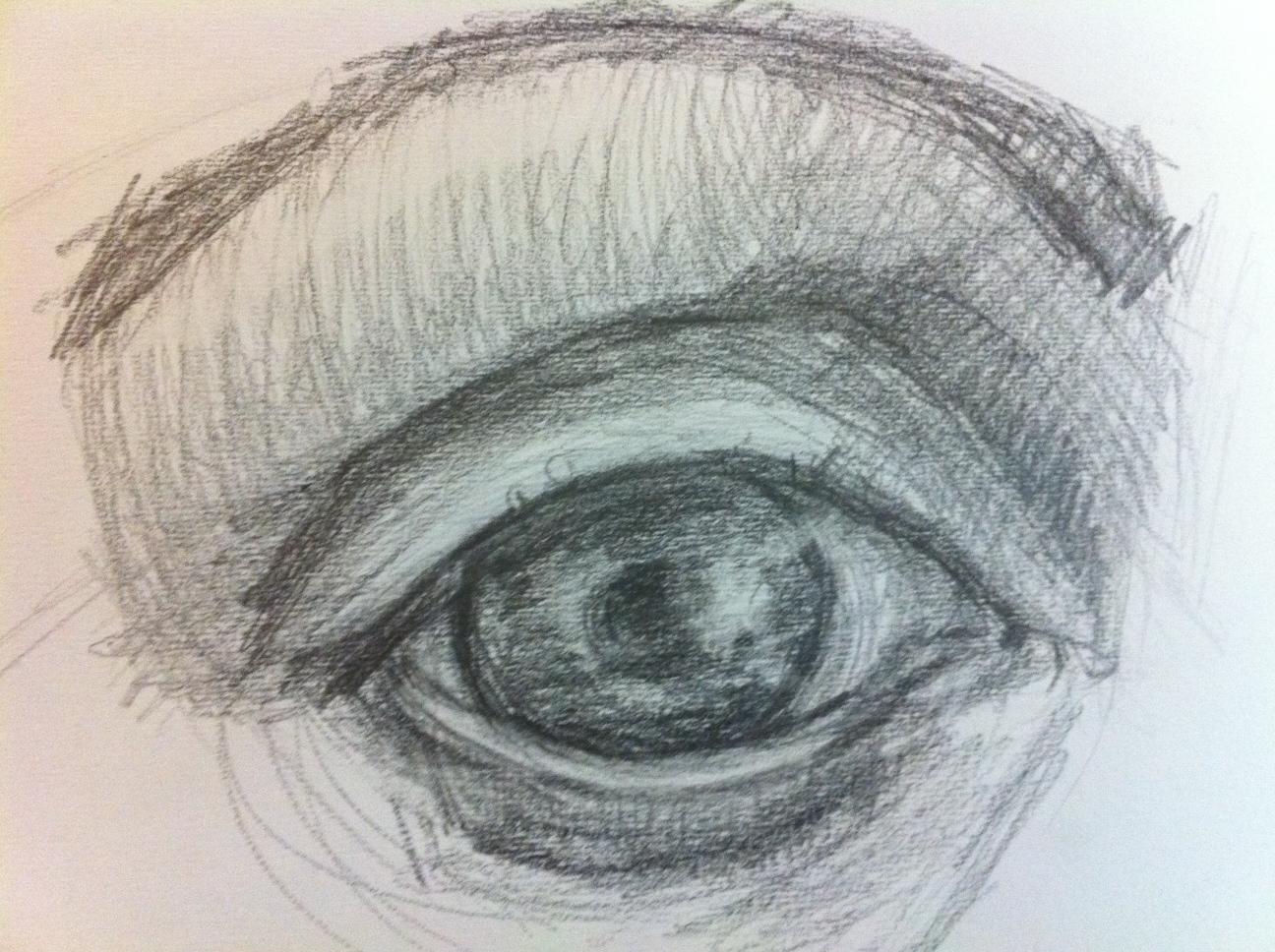 Contour Line Drawing Face : Portrait drawing my way: workshop 2 let's hatch!