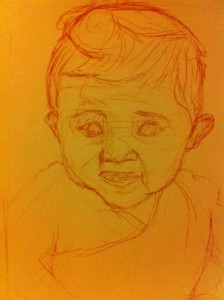 Ruby preliminary sketch
