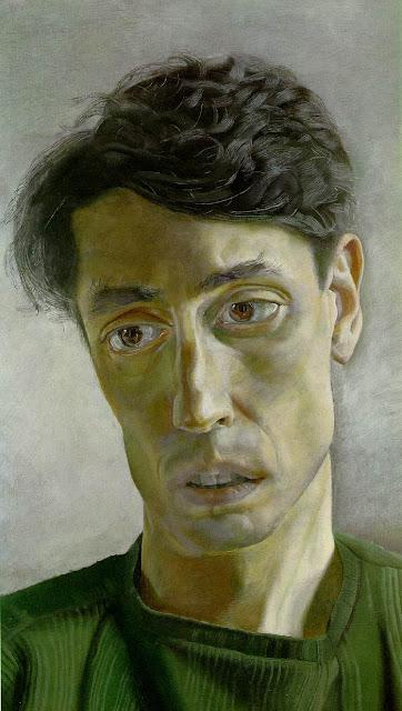 John Minton by Lucian Freud 1952
